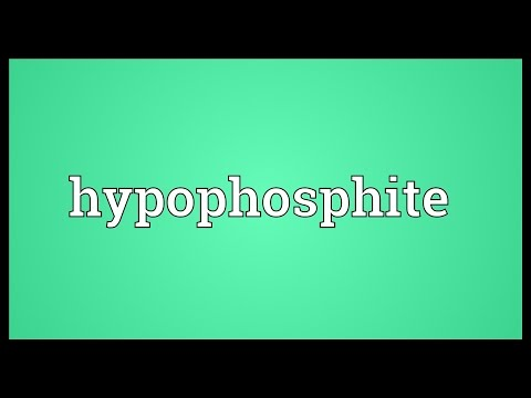 Header of hypophosphite