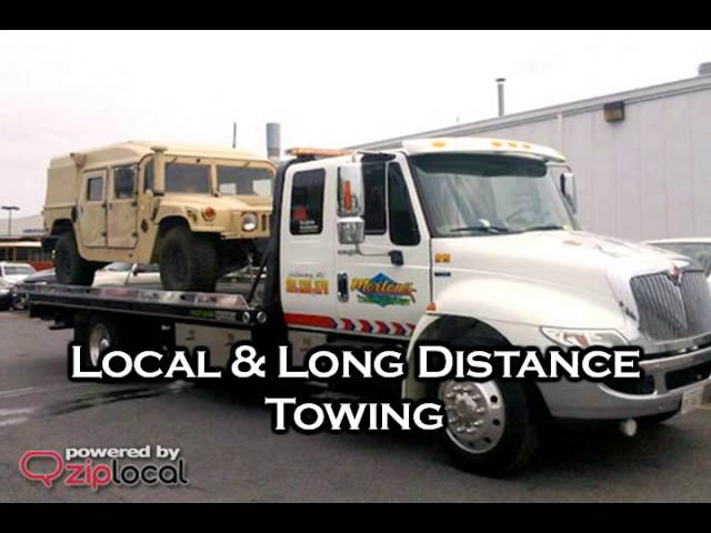 Morton's Towing & Recovery - (301)330-1170