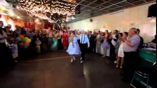 Свадебный танец в стиле Линди Хоп