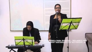 Hallelujah - Duo - Teclado e Voz - Minueto Música para Eventos - Belo Horizonte