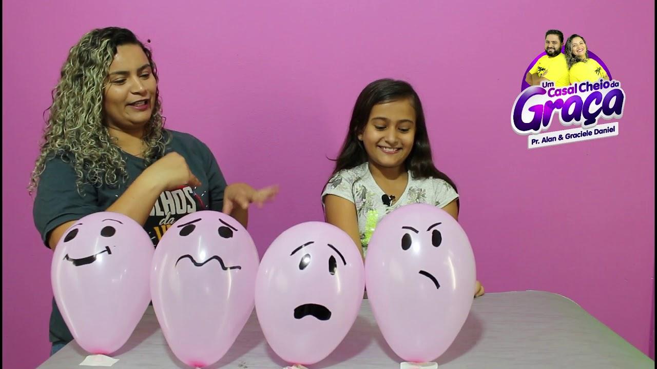 Dinâmica para Crianças - bexiga - alegria