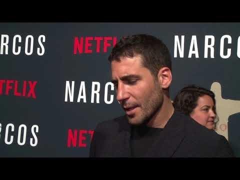 netflix Narcos season 3 Miguel Angel Silvestre, Arturo Castro, Full interview NYC Premiere