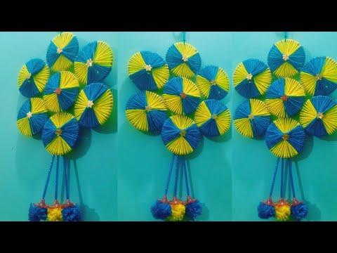 Download woolen jhumar banane ka asan tarika! DIY woolen jhumar ! bangles jhumar......