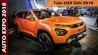 Tata H5X SUV At Auto Expo 2018 - Overview In Hindi