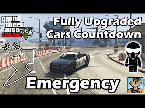 Fastest Emergency Vehicles (2015) - Best Fully Upgraded Cars In GTA Online