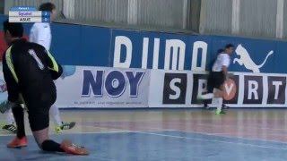 Armenian Futsal championship Gyumri vs ASUE (14.02.2016)