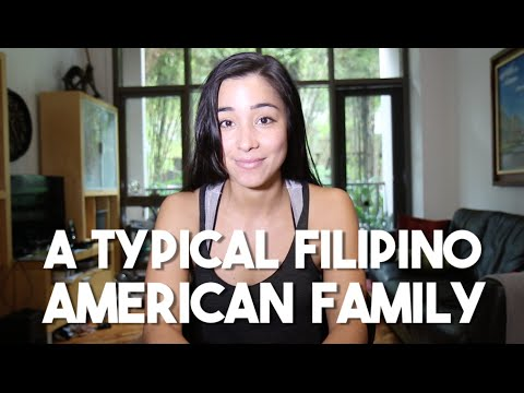 A Typical Filipino American Family