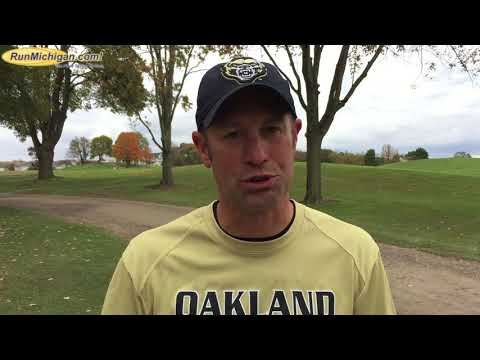 Interview:  Paul Rice, OU, Coach of Year at 2017 Horizon League XC Championship