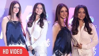 Sussanne Khan And Gauri Khan Together at Shweta Bachchan's MxS Label Launch