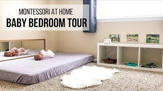 MONTESSORI BABY ROOM TOUR