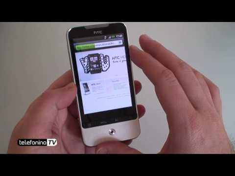 HTC Legend videoreview da Telefonino.net