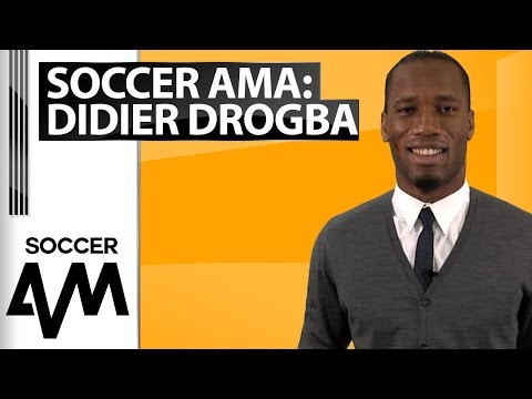 #SoccerAMA With Didier Drogba: 'Who Is Your Best Friend In Football?'