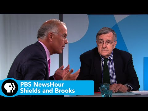 Shields and Brooks on Biden's presidential pondering, voter perceptions of Clinton