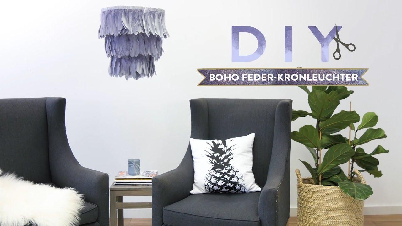 Boho Feder Kronleuchter | WESTWING DIY Tipps