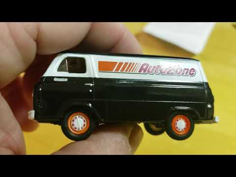 M2 auto zone exclusive autolifts 1965 Ford econoline van opening review