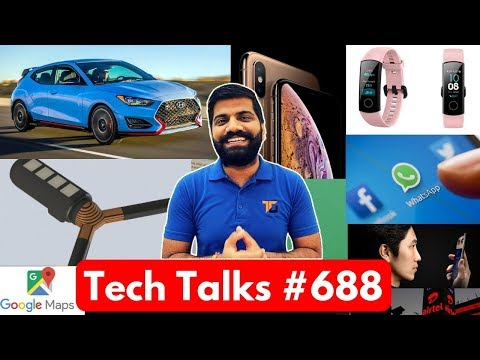 Tech Talks #688 - Fingerprint Car, Xiaomi SunGlasses, Huawei Nova 4 , Google Maps Auto, Desire 12s