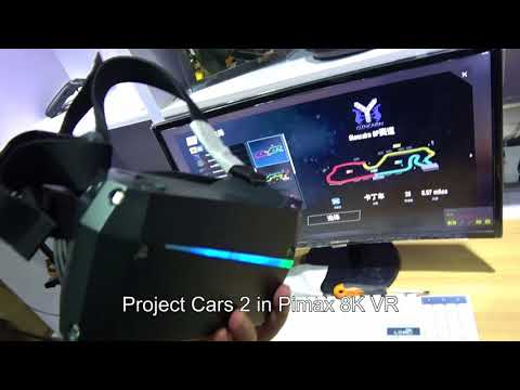 Project car 2 in Pimax 8K VR