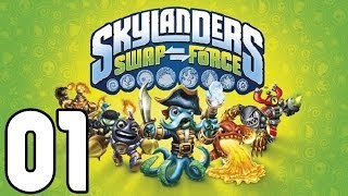 Let's Play Skylanders Swap Force PS4 Gameplay German Deutsch Part 1 - Das Abenteuer beginnt