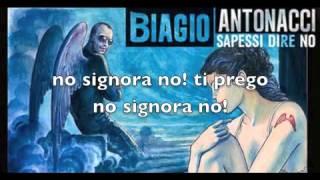 Non vivo più senza te (lyrics - testo) - Biagio Antonacci