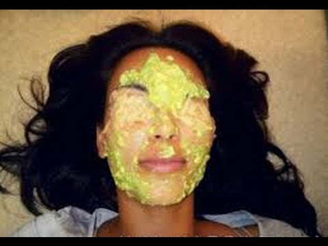 avocado facial mask maske per lekur te bute youtube. Black Bedroom Furniture Sets. Home Design Ideas