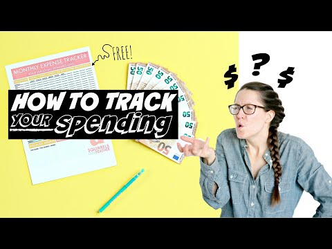 HOW TO TRACK YOUR MONTHLY EXPENSES | FREE Printable Daily Spending Tracker + Complete Walkthrough