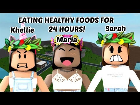 Eating healthy foods for 24 hours...