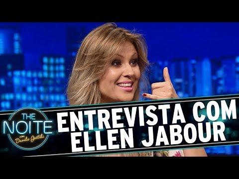 The Noite (21/08/15) - Entrevista com Ellen Jabour