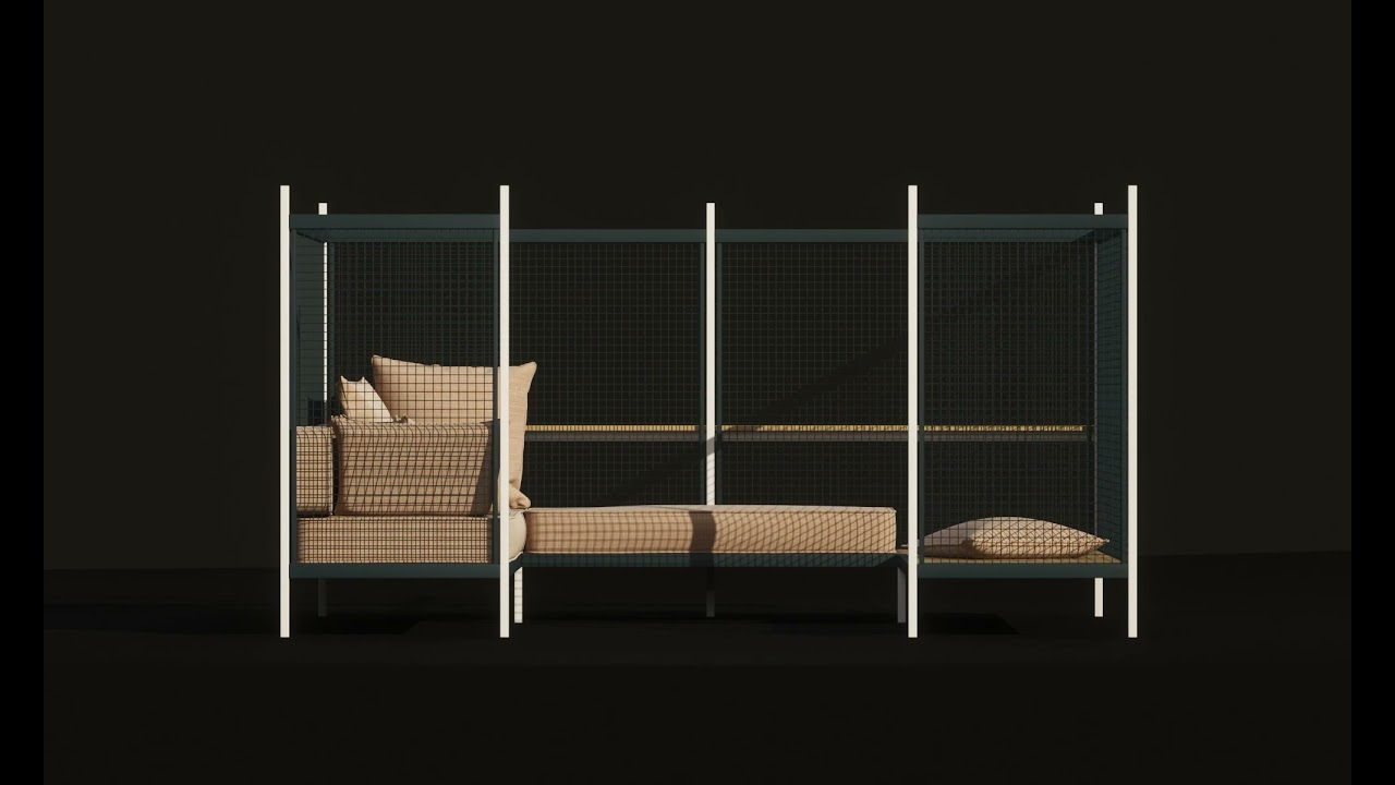 Established & Sons - Grid Collection: Room-within-a-Room