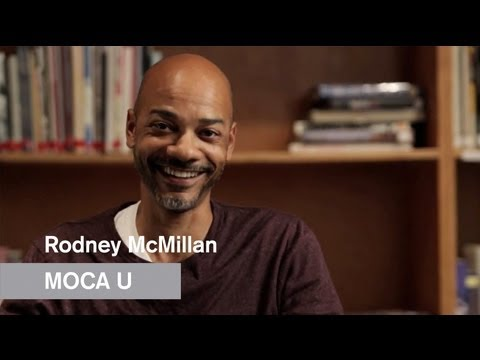 Rodney McMillian - Blues for Smoke - MOCA U - MOCAtv