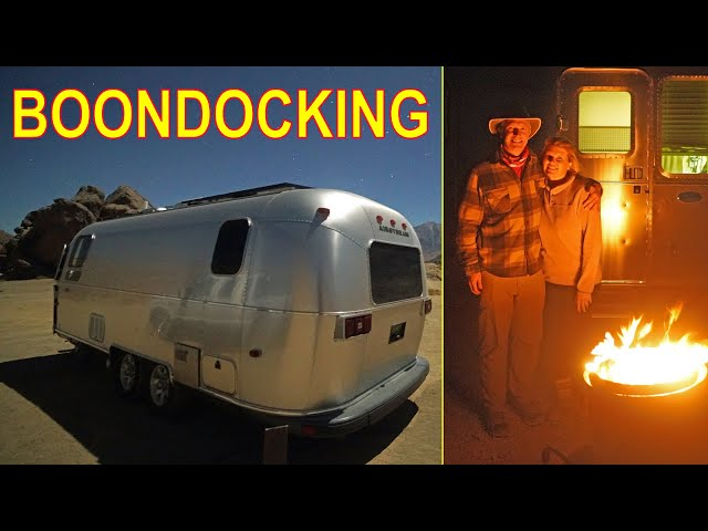 For Beginners: RV BOONDOCKING Basics!
