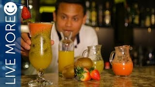 Fresh and Healthy Drink recipe @ Rixos Dubai