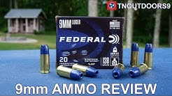9MM SYNTECH DEFENSE AMMO REVIEW (2019)
