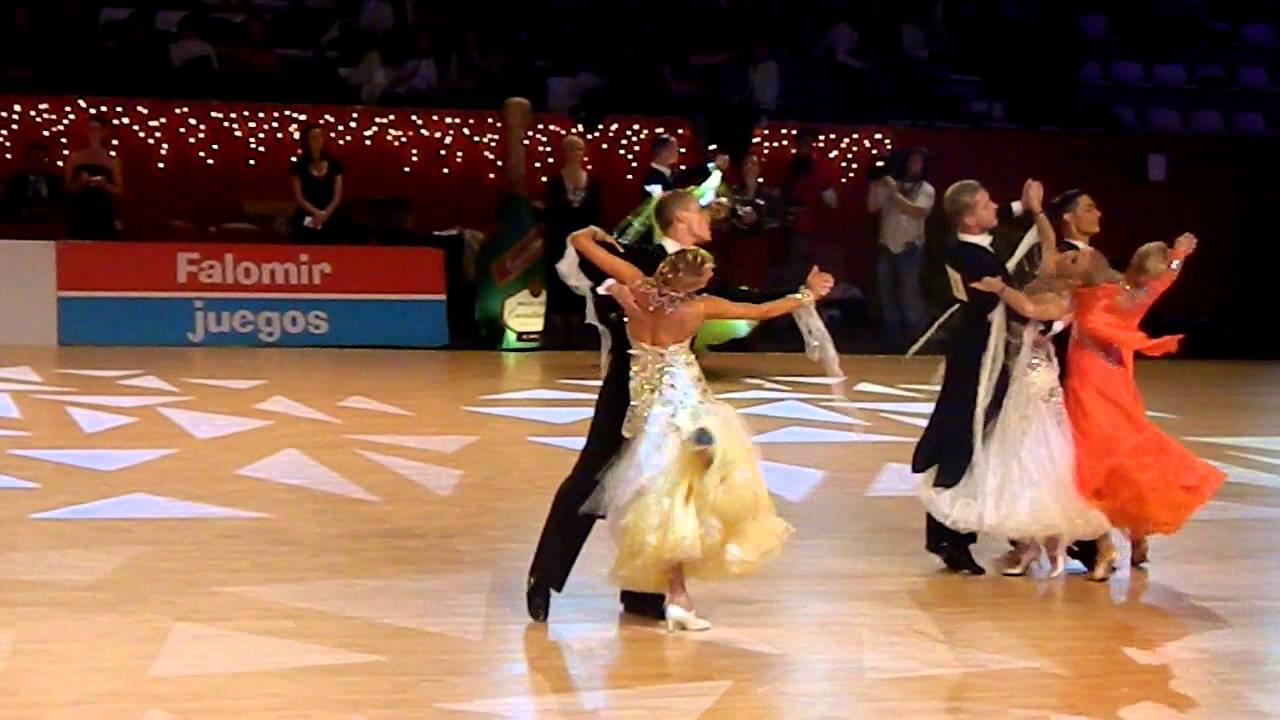 Artem Terekhov Olga Morozova Spanish Open 2012 WDSF WO