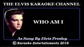 The Gospel Side Of Elvis Presley Karaoke Who Am I