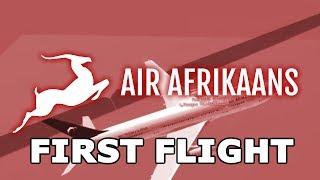 ROBLOX - Air Afrikaans A330 FIRST Flight