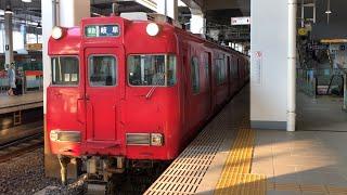 名鉄6000系 準急 岐阜行き 太田川駅 発車【レア運用】
