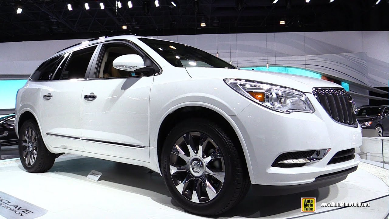watch walkaround and exterior awd enclave show buick interior auto detroit youtube