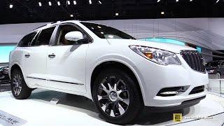 2016 Buick Enclave Tuscan Edition - Turnarond - 2015 New York Auto Show