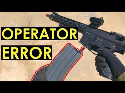 Operator ERROR | G&G Knights Armament SR15 E3 MOD 2 Carbine (Straight Outta the Box)