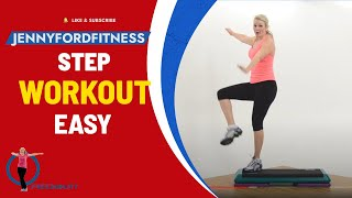 Step Aerobics Quick Cardio Workout Video Anyone Can Do