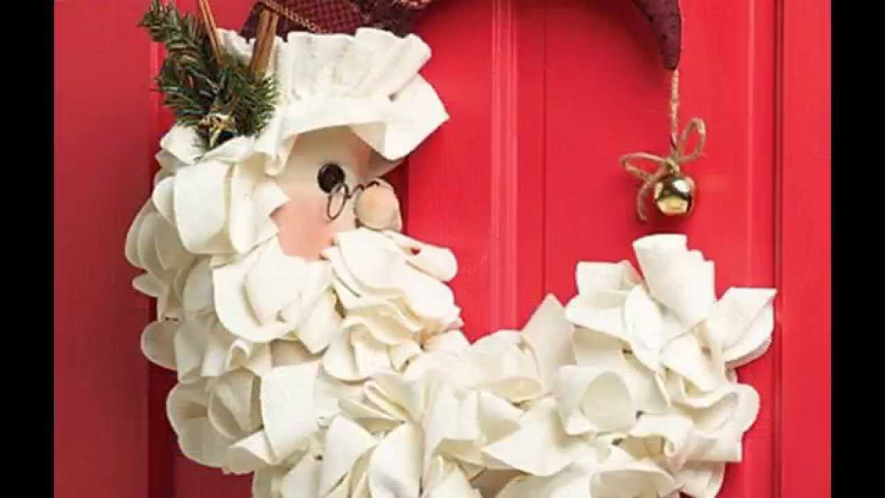 Awesome christmas door decorations ideas youtube Latest christmas decorations