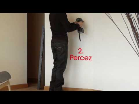 protection murale pour poeles bois informations montage youtube. Black Bedroom Furniture Sets. Home Design Ideas