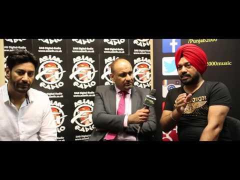 Harbhajan Mann & Gurpreet Ghuggi Interview With Harjap Bhangal