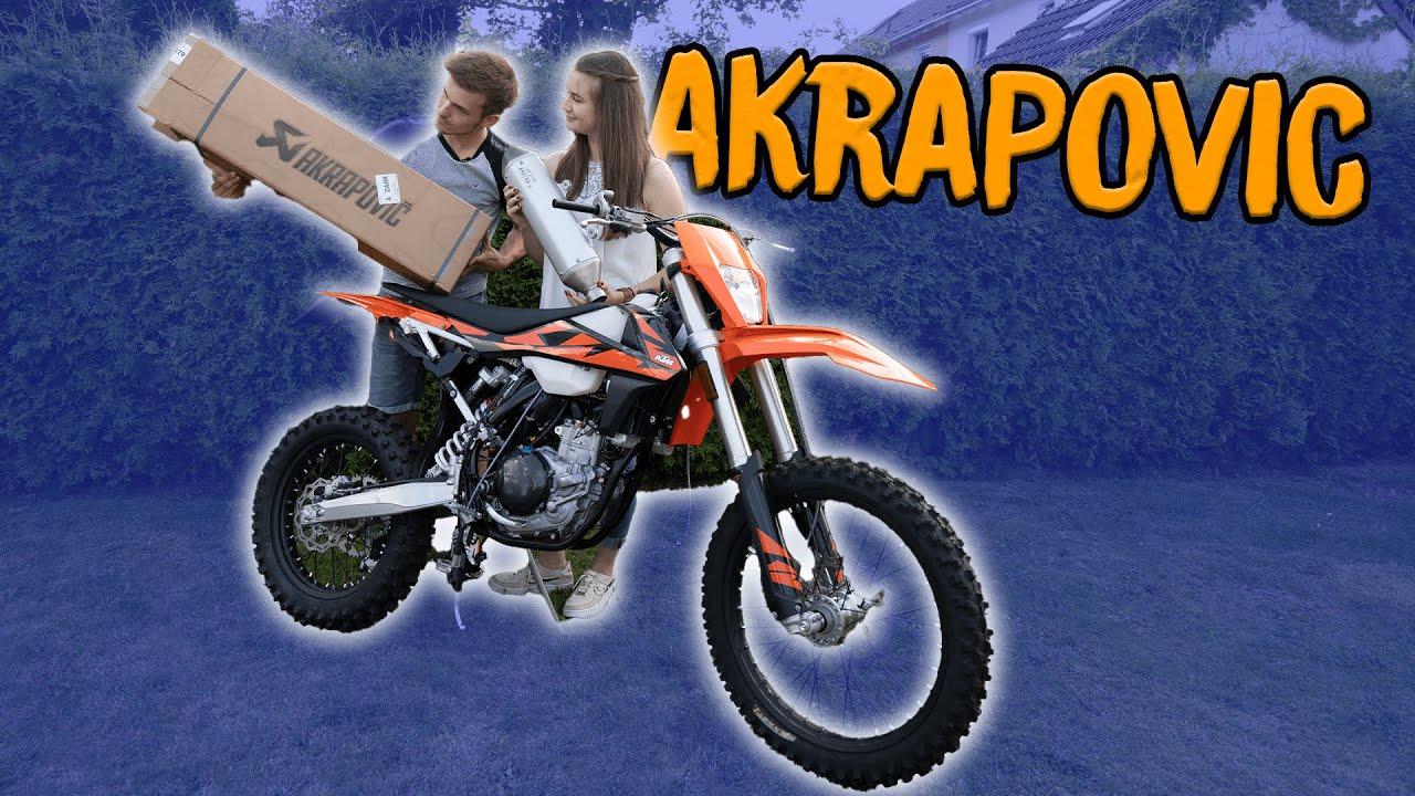 KTM EXC 500 AKRAPOVIC Auspuff | Niklas Wetterhahn
