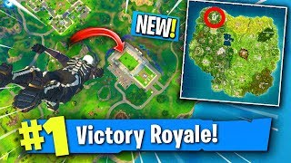 Only Landing At The *NEW LOCATION* In FORTNITE! (Fortnite New Map Update)