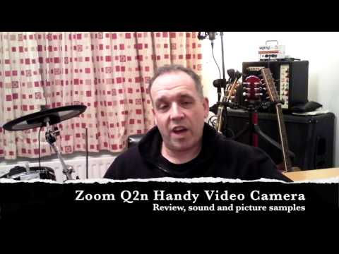 "Zoom Q2n ""Handy Video Recorder"" Review (including lighting and sound samples)"