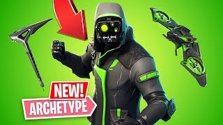 NUEVA PIEL DE ARCHETYPE EPIC!! *Pro Fortnite Player* // 1,300 victorias (Fortnite Battle Royale)