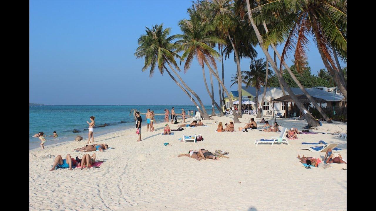 Бюджетные Мальдивы. Пляж на Маафуши и подводный мир - YouTube