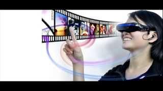 Портативные видео очки (52-дюймовый виртуальный экран)