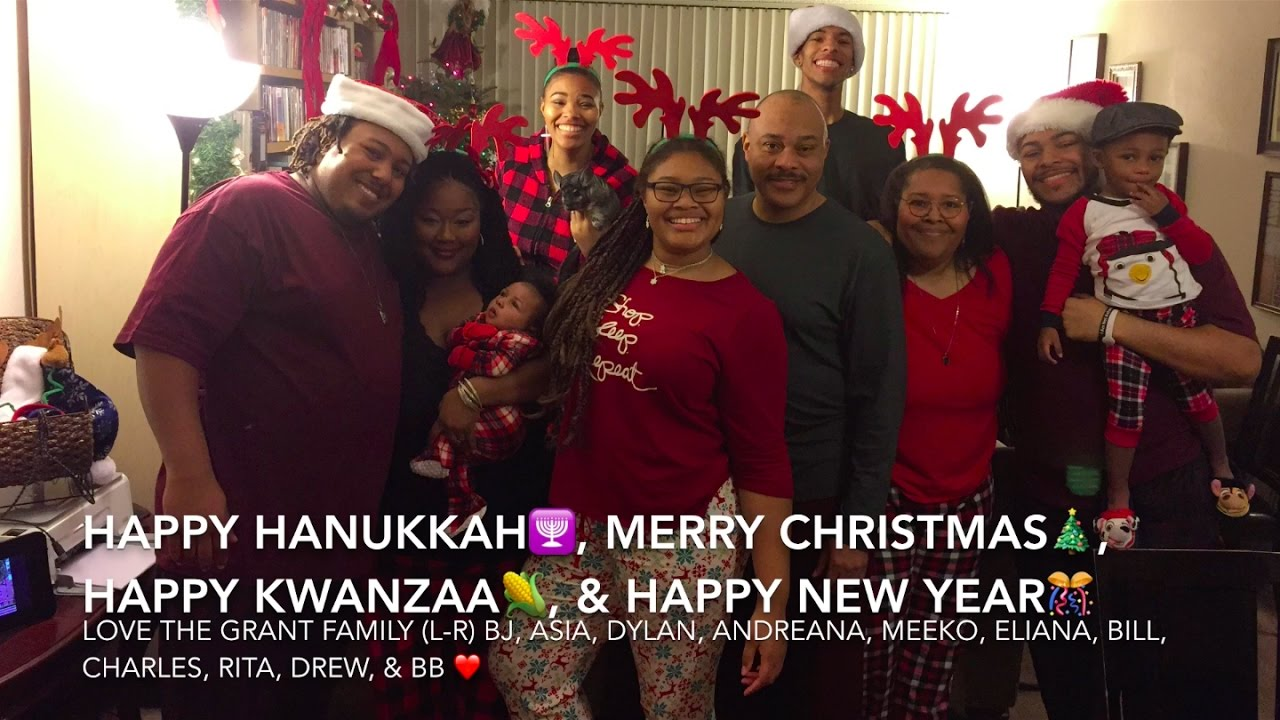 Campbell Grant Family Holiday Greetings Postcard Video 2016 Youtube